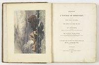 HALL, B. -  Account of a voyage of discovery to the west coast of Corea.