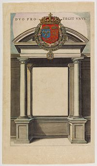 BLAEU, J./ C. -  Title page from Le Theatre du Monde ou Nouvel Atlas
