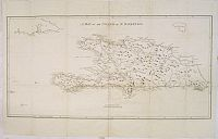 STOCKDALE, J. - A Map of the Island of St. Domingo.
