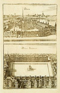 MERIAN, C. -  Palais. Place Royal.