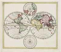 HOMANN,J.B. -  World map.