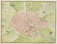BRETEZ, Louis / TURGOT. -  Plan de Paris.