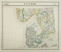VANDERMAELEN, Ph. -  Europe. Danemarc. N°8.