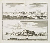 MERIAN, C. -  La Fere. Estaples.