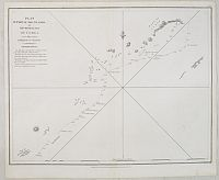 LA PEROUSE, J.F.G. -  Plan of part of the Islands or Archipelago of Corea.