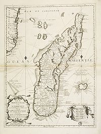 CORONELLI, V.M. -  Isola di Madagascar, o di S. Lorenzo . . .