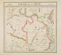 VANDERMAELEN, Ph. -  Partie de la Chine N°73. (Covers parts of Hubei, Henan, Anhui, Jiangsu, Shanxi and Shandong provinces.)