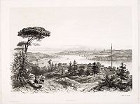 JACOMME et CIE. -  (Untitled view  from Scutari with a view of Constantinople)