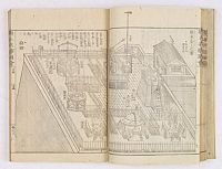 OKADA GYUKUZAN, OKA YUGAKU, OHARA TOYA MINSEI -  Morokoshi Meisho Zue [Illustrated Description of Famous Sites of China].