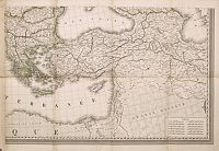 LAPIE, P. -  (Untitled map of Turkey, Greece and the Near East.