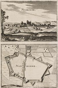 MERIAN, C. -  Narbonne.