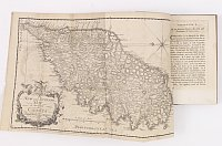 BOSWELL, James. - An Account of Corsica the Journal of a Tour to that Island; and Memoirs of Pascal Paoli. Illustrated with a New and Accurate Map of Corsica. The Second Edition.