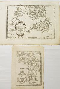 BELLIN, J.N. - Carte des Isles Philippines�1re et 2e feuille.