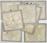 ROBERT DE VAUGONDY, G. - (8 cartes).