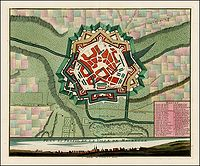 COVENS, J. / MORTIER, C. - Plan et Profil de la Ville de Maubeuge.