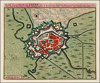 COVENS, J. / MORTIER, C. - Plan de la Ville de Cond.