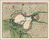 COVENS, J. / MORTIER, C. - Plan de la Ville et Citadelle d