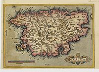 ORTELIUS, A. - Corsica.