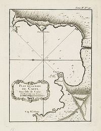 BELLIN, J.N. - Plan de la Baye de Calvi.