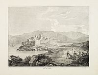 JOLY de la VAUBIGNON, Adrien. - Vue de Calvi.
