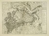 COVENS, J./ MORTIER, P. - Plan de la ville et citadelle de Lille.