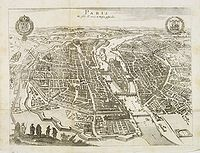 MERIAN, M. - Paris Wie Solche A. 1620. im Weffen geftanden.