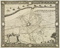 BEAULIEU, Sbastien de PONTAULT de. - Plan et Sige de la Ville de Gravelines assige et prise par Son Altesse Royalle Monseign.r le duc d