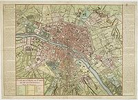 DAUMONT - Plan de la Ville de Paris et de ses Faubourgs.