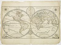 DUVAL, P. - Planisphere, ou Carte Generale du Monde.