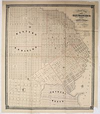 LECOUNT, Josiah J. - Official Map Of The City Of San Francisco, California.