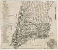 HOOKER, W. - Plan of the City of New York.